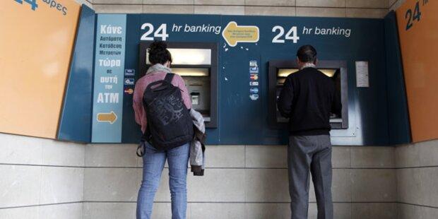 Zypern: Ab morgen 300 Euro am Tag